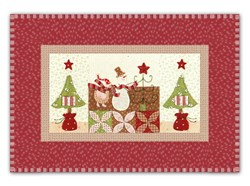 Mistletoe Lane Complete Wall Hanging/Table Mat Kit - Orphan Block #8
