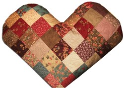 "Valentine's Love Pattern Download & Free ""BEST"" Quilter's Chocolate Caramel Brownies Ever!!"