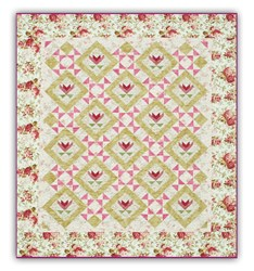 LAST ONE!  Mother's Garden of Love Quilt Kit