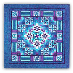Mystical PrismTonga Batiks  King Sized Block of the Month or All at Once by Wing and a Prayer! - Start Anytime!