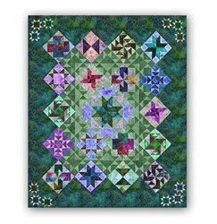 "<i>It's Back! </i><br>  Night & Day Exclusive ""Tropical Jungle"" Block of the Month or All at Once - Start Anytime!"