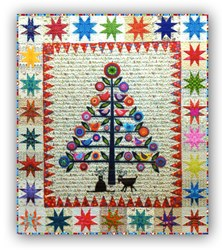 It's Back!  Oh Christmas Tree  100% Wool Applique Kit<br> Free US Shipping! <br><i>Free US Shipping!</i>