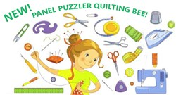 Panel Puzzler At Home, But Still Together, Quilting Bee 2020 #2 - Starts September 1st!