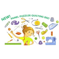 Panel Puzzler At Home, But Still Together -  START HERE -  Quilting Bee 2020 #2 - Starts September 1st!