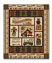 Pumpkin Farm Quilt Kit by Staci West of Buttermilk Basin for Henry Glass Fabrics