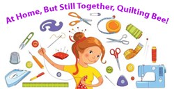 Panel Puzzler At Home, But Still Together, Quilting Bee 2020 #2 Paid Pattern Set