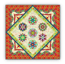 "New!  Exclusive ""Island Life Sampler"" <br> a  Judy Neimeyer Block of the Month  <br><i>Starts Anytime!</i>"
