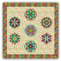 "New!  Exclusive ""Island Colors Sampler"" <br> a  Judy Neimeyer Block of the Month  <br><i>Starts Anytime!</i>"