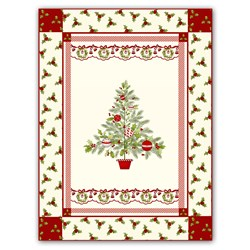 Ring in Christmas Quilt Kit with Optional Christmas Bling Pack