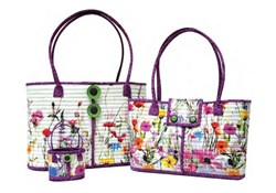 """More Back in Stock!  Rockport """"Wildflower"""" Totes Kits - 2 in One!"""