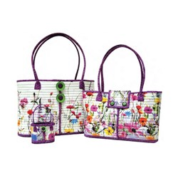 "More Back in Stock!  Rockport ""Wildflower"" Totes Kits - 2 in One!"