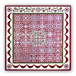 "Sarah's ""Christmas"" Revival Quilt Kit"