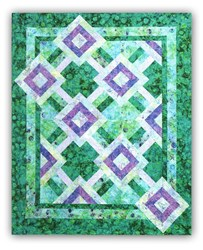 Sea Salt Lap Size Quilt Pattern <br>by Tammy Silvers of Tamarinis