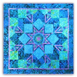 Sea Star Batik Quilt Kit