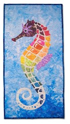 Sylvester Seahorse Pre-Fused/Laser Cut Fabric Starter Kit