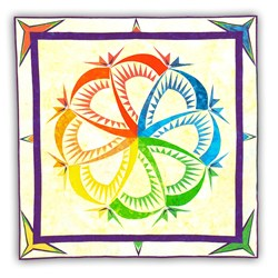 Sf Sensibilities Batik Paper Pieced Pattern Set
