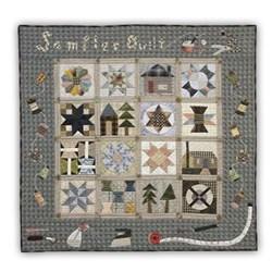 Last Ones!  Sewing Room Sampler Cotton Quilt Kit