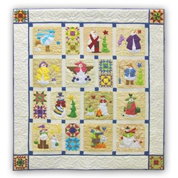 Shivery Snowmen Quilt KIt