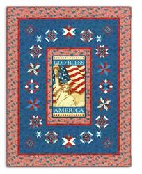 God Bless America Quilt Kit