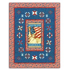 God Bless America Quilt Kit