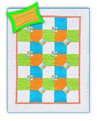 Simply Perfect <br> Advanced Beginner Kit #1<br><br><i>Summer Shout Out Quilt Kit</i><br>