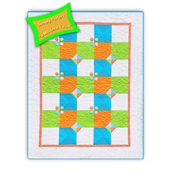 Simply Perfect  Advanced Beginner Kit #1Summer Shout Out Quilt Kit