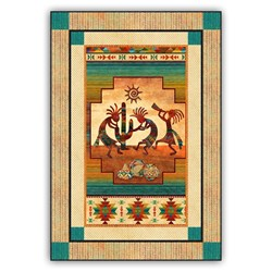 Kokopelli Sunset Beat Quilt Kit