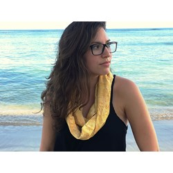 Infinity Scarf Kit - Sandcastle Yellow