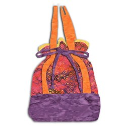 The Malibu Beach Shopper - TheSurf Rider II Batik Tote Kit