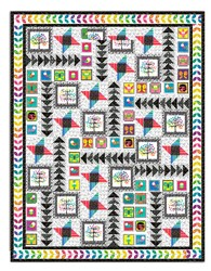 Last One!  Sweet Tweets Quilt Kit - Twin Size!