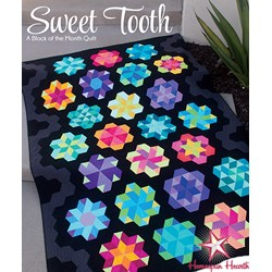 Last One!  Sweet Tooth Twin Sized Quilt Block of the Month or All at Once