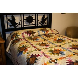 Texas Star Quilt Pattern - Lap, Twin, Queen
