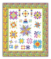 Exclusive Tradewinds Summertime Sampler Quilt Along