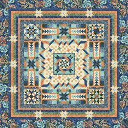 Tranquility Block of the Month or All at Once by Wing and a Prayer - Start Anytime!