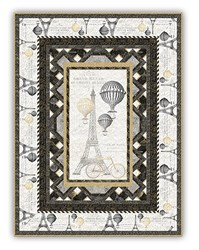 Tres Graphique Twin Size Quilt Kit