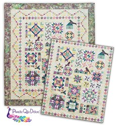 More Back in Stock!  Twilight Song Sampler Block of the Month or All at Once - Queen Size. <br>Start Anytime!