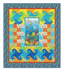 Under the Sea Twin Size Pattern Download