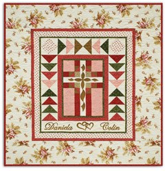 Cherished Wedding Day Quilt Kit