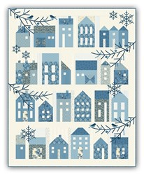 Winter Village  - Coordinating Backing