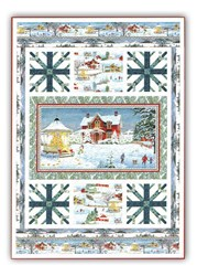 More Back in Stock!  Winter's Eve Throw Quilt Kit