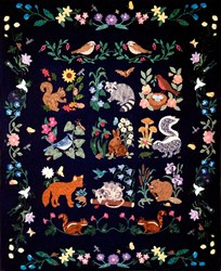 Last One!  Woodland Creatures Laser Cut Quilt Kit