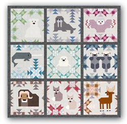 North Star Sampler ... Nighttime Version- <br>Quilt Kit  <br>