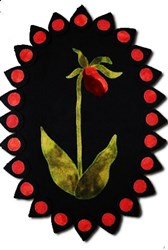 Lady's Slipper Pattern <br>by Lakeview Primitives
