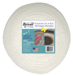White Katahdin 2-1/2in X 50yds for Jelly Roll & Colossal Round Rugs