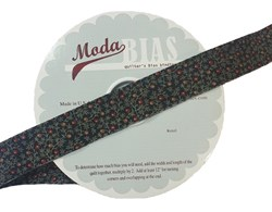 Vintage Find!  Moda Bias Binding -Harveset Home - Black