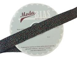 Vintage Find!  Moda Bias Binding -Harveset Home - Black