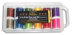 Last One!  A-Z For Ewe and Me -  Superior Magnifico Thread Pack
