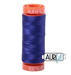 Mako 50 - 220 yards - Aurifil #1200 - Blue Violet