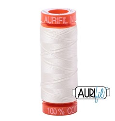 Mako 50 - 220 yards - Aurifil #2026 Chalk