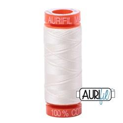 Mako 50 - 220 yards - Aurifil #2026 Chalk